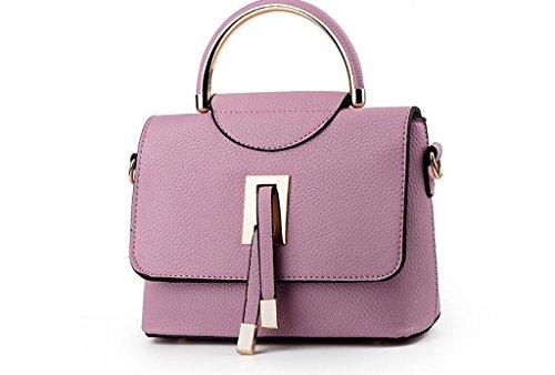 El nuevo bolso, nuevas mujeres europeas y americanas bolsas, bolsos, bolsas purple