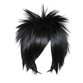 Dream2reality Cosplay_Naruto_Sasuke_bottom curl_35cm_black_wigs