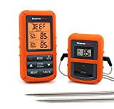 ThermoPro TP20 Wireless Remote Digital Cooking Food Meat Thermometer with Dual Probe for Smoker Grill BBQ Thermometer