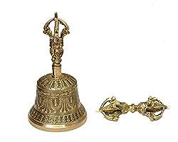 Dharma Store - Tibetan Buddhist Meditation Bell and Dorje Set