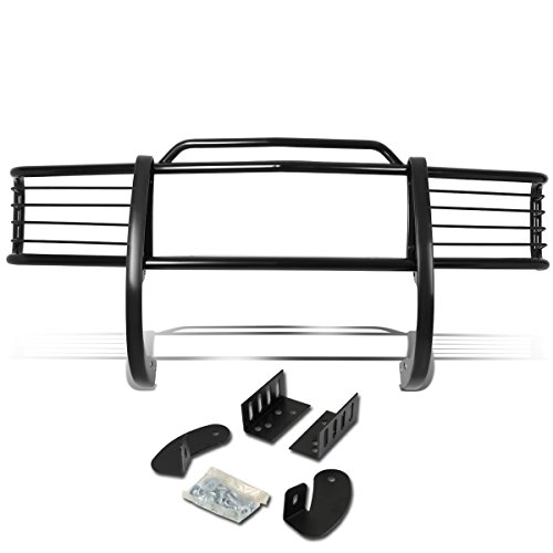 DNA Motoring GRILL-G-006-BK Front Bumper Brush Grille Guard ()