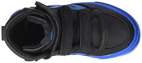 Hummel Unisex-Kinder Stadil Tonal Jr Sneaker Schwarz (Black)