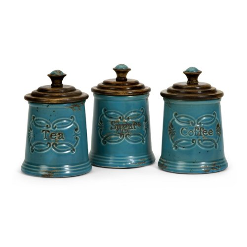 IMAX 5506 3 Provincial Canisters, Set Of 3
