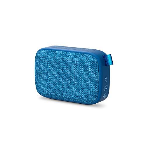 Energy-Sistem-Fabric-Box-1-Pocket-Blueberry-Altavoz-portatil-con-Bluetooth-TWS-Bluetooth-v50-3W-USBmicroSD-MP3-Player-FM-Radio-Azul