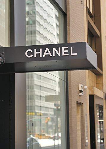 (Chanel Wall Art Vertical Print, Chanel Decor, Chanel Store Sign, Fashion Wall Art, New York City Fashion Photography Print, Fashion Wall Decor, Dorm Wall Art, Teen Girls Room Art, Bathroom Decor)