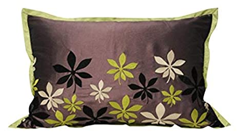 Amazon.com: Paoletti Oasis Cushion Cover, Lime, 40 x 60 Cm ...