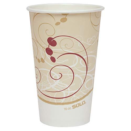 Hot Symphony Paper Cup (Solo 316SM-J8000 16 oz Symphony SSP Paper Hot Cup (Case of 1000))