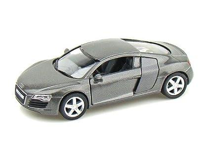 Kinsmart Audi R8 1:36 Scale 5 Inch Toy Car Model   Multi Color