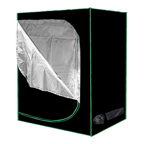Cheap Minerva 48″ x 24″ x 60″ Mylar Hydroponic Grow Tent for Indoor Plant Growing with Installation Instructions