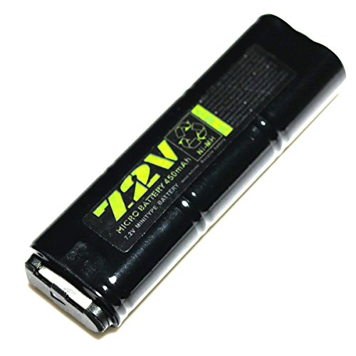 AEG Airsoft Wargame Shooting Gear WELL 7.2V 450mAh Ni-MH Bat