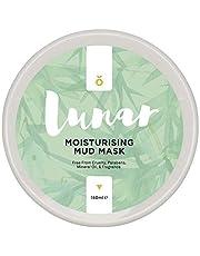 Moisturising Mud Mask by Lunar Glow - A Healing and Reviving Bentonite Clay Face Mask - 5 fl.oz/150ml