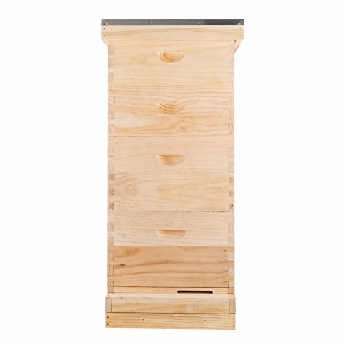 Langstroth Bee Hive 10 Frame-includes honey supers