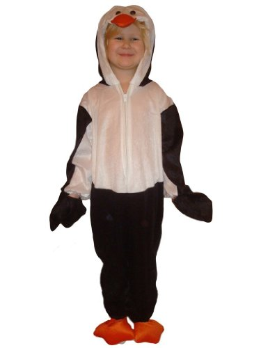Penguin children-s halloween costume-s, baby girl-s boy-s kid-s, J35 Size: 4t