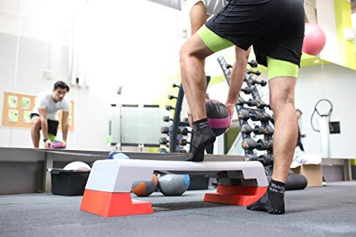 Paires 36 Ou Coton 46 Trampoline Danse Les 2 Pour De 6 Le Gymnastique Arts Idéal Noir Respirant Sports 1 4 Tailles Yoga X Chaussettes Antidérapantes Martiaux Abs Pilates Fitness wIFFg