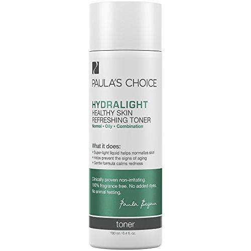 Paula's Choice HYDRALIGHT Healthy Skin Refreshing Toner | Green Tea & Hyaluronic Acid | Oily, Sensitive Skin | 6.4 Ounce