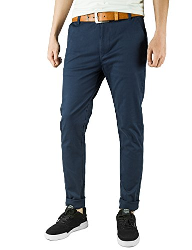 Italy Chino Stretch Cotton Trousers
