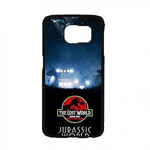 Jurassic Park Cover Funda For Samsung Galaxy S7,Samsung Galaxy S7 Funda Jurassic Park Logo Phone Funda,Jurassic Park Phone Funda Cover Black