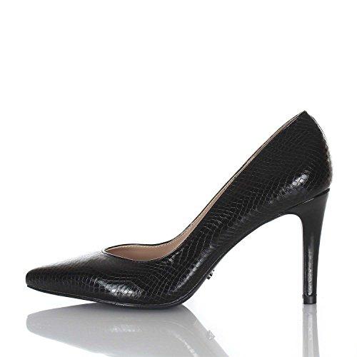 Para Vestir Mujer Zapatos Gaudì Negro De tqacE