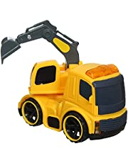 Plastic Car Model S-951 - Yellow
