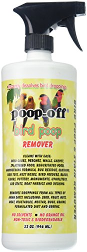 Stain Removal Bird Droppings - Poop-Off Bird Poop Remover Sprayer, 32 oz