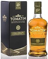 Tomatin Single Malt Whisky 12 Años - 700 ml