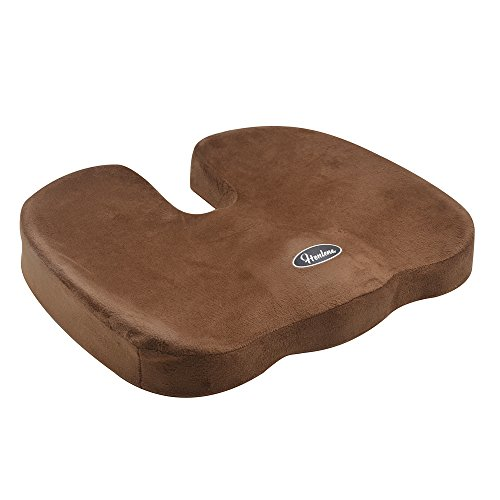 Coccyx Orthopedic Memory Foam Office Chair and Car Seat Cush