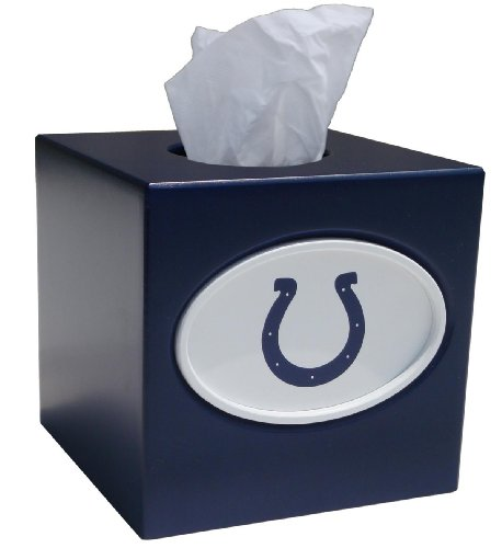 NFL Tissue Box Cover NFL Team: Indianapolis (Indianapolis Colts Decor)