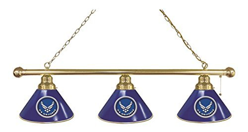 U.S. Air Force 3 Shade Billiard Light by Holland Bar Stool Co.