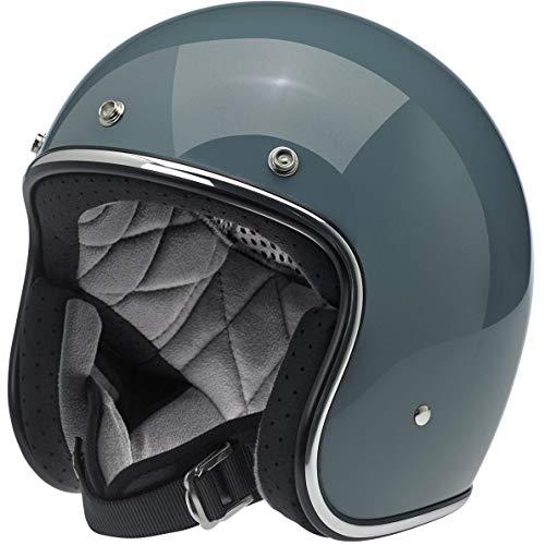 Price comparison product image Biltwell Unisex-Adult's Open face Bonanza 3 / 4 Helmet (Gloss Agave,  Large)
