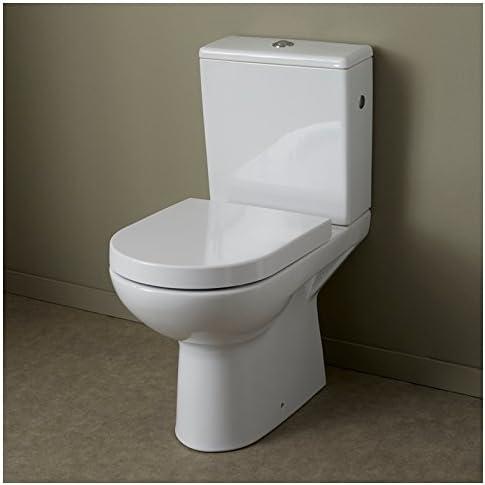 Pack WC de mesa de cerámica con salida horizontal: Amazon.es: Hogar