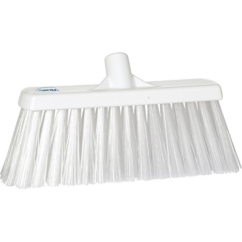 Vikan 29155 Heavy Duty Block Sweep Floor Broom Head, PET Bristle Polypropylene, 12-3/4