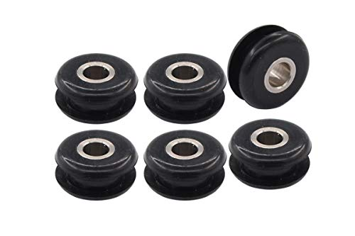 Pack of 6 Gas Fuel Tank Mounts Rubber Grommets for Harley Heritage Softail Springer Bad Boy - Gas Rubber