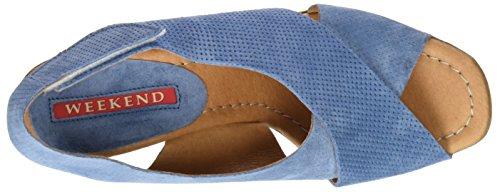 WEEKEND BY PEDRO MIRALLES Damen 17500 Clogs Blau (Cielo)