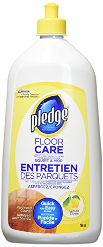 Pledge 4 in 1 Wood Floor Care Cleaner - 798ml
