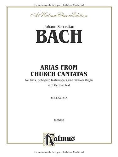 Bass Arias: 12 Arias (German Language Edition) (Kalmus Edition) (German Edition)