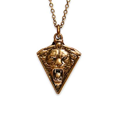 Amazon lion gargoyle necklace bronze pendant necklaces lion gargoyle necklace bronze aloadofball Gallery