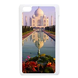 SHJFDIYCase Design Personalized India Taj Mahal Hard Protective Back Cover Case for Ipod Touch 4, Personalized Phone Case SHJF-507698