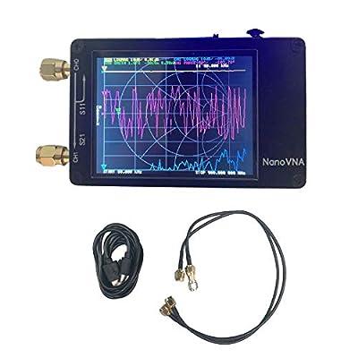 HOTSTORE Vector Network Analyzer, Portable Handheld Nanovna Vector Network Analyzer 50KHz-900MHz Digital Display Touching Screen Shortwave MF HF VHF UHF Antenna Analyzer Standing Wave
