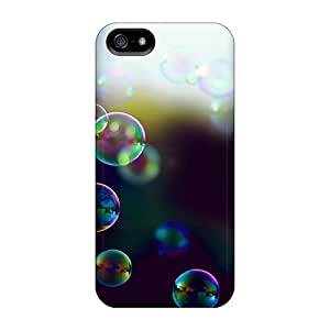 UWeO-918lsQ Tpu Case Skin Protector For Iphone 5/5s Soap Bubble Rainbow With Nice Appearance