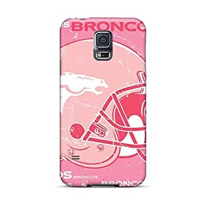 High Quality Hard Cell-phone Case For Samsung Galaxy S5 (Qdh15392QUIF) Allow Personal Design Fashion Denver Broncos Image