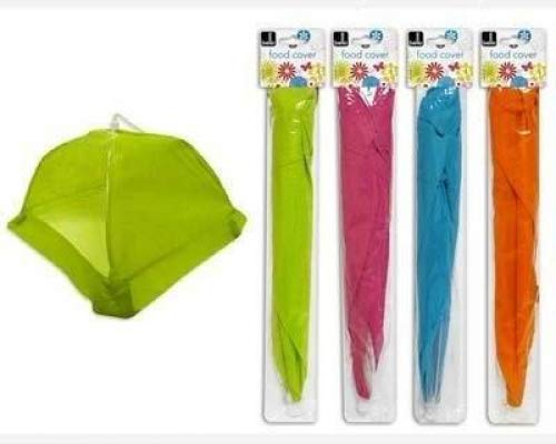 Regenschirm Lebensmittel Cover–Pack von Vier, bunten