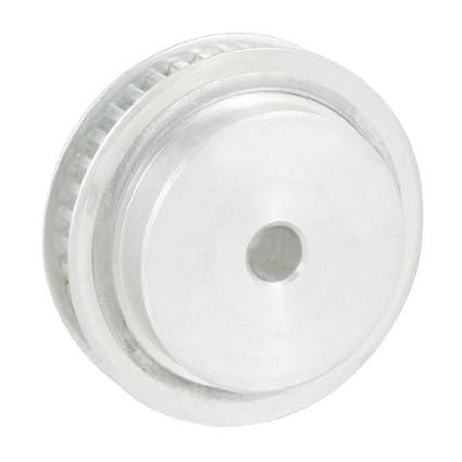eDealMax 10 mm Diámetro 40 Dientes doble brida de correa dentada Polea - - Amazon.com