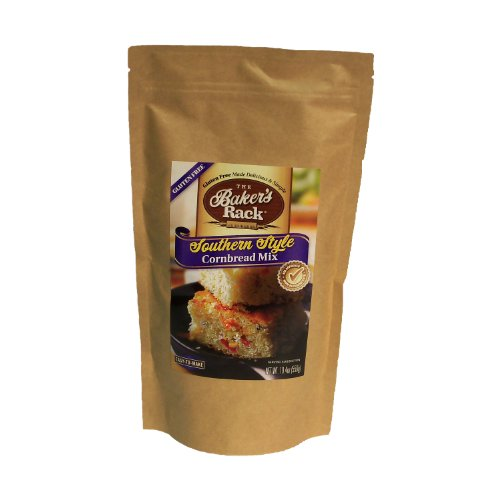Price comparison product image Baker's Rack Gluten Free Southern Cornbread Mix,  19.4 Ounce