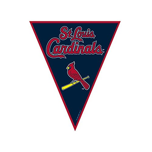 St. Louis Cardinals Major League Baseball Collection Pennant Banner, Party Decoration