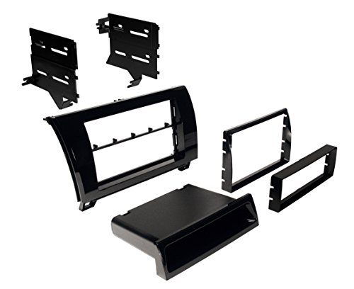 (Ai TOYK967GB 2007-2013 Toyota Tundra / 2008-2013 Sequoia Dash Kit Gloss Black)
