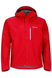 f634c363e Marmot Minimalist Men's Lightweight Waterproof Rain Jacket, GORE-TEX with  PACLITE Technology, Medium, Team Red (B005BXY3EK) | Amazon price tracker ...