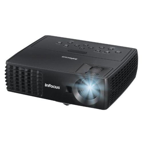 InFocus IN1112 Ultra Mobile Widescreen DLP Projector, 2.75 lbs, WXGA, 2200 Lumens