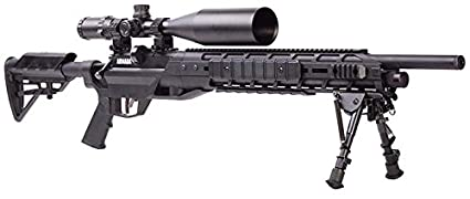Benjamin BTAP25SX Armada PCP Powered Multi-Shot Bolt Action 25 Cal Hunting  Air Rifle with M-LOK Interface & Bipod