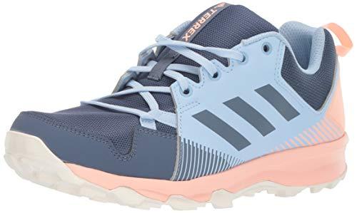 adidas outdoor Women's Terrex Tracerocker Trail Running Shoe, TECH Ink/TECH Ink/Glow Pink, 7.5 M US