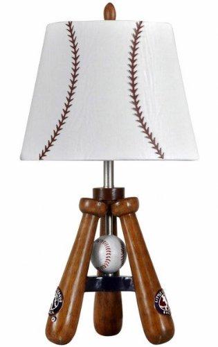 baseball theme round table lamp - Baseball Lamp